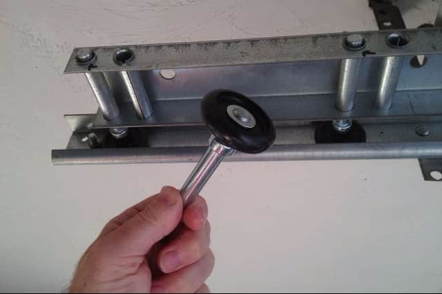 proper care for garage door rollers